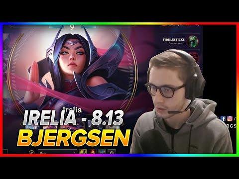 705. Bjergsen - Irelia Vs Leblanc - Mid - Season 8 Patch 8.13 - NA Challenger