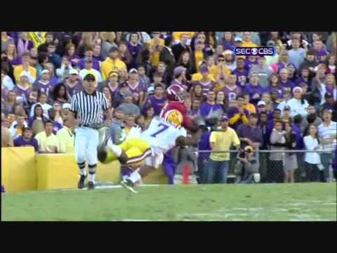 Patrick Peterson vs Alabama 2010