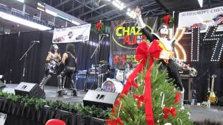 "KISS Alive - cover of ""Calling Dr. Love"" - WPLR Toy Drive - December 06, 2013"