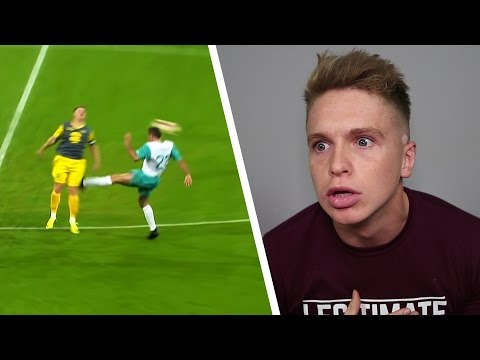 FOOTBALLER ATTACKS YOUTUBER