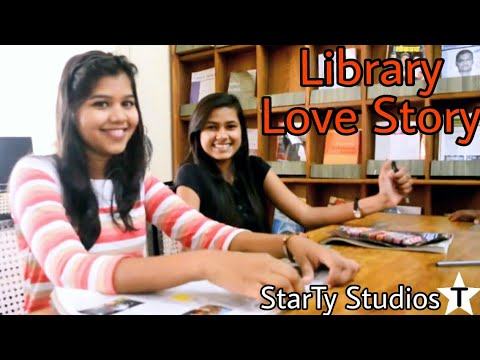Thumbnail: Library - A short & silent LOVE STORY-Directed by AJAY TYAGI | StarTy studios |Cute love story |