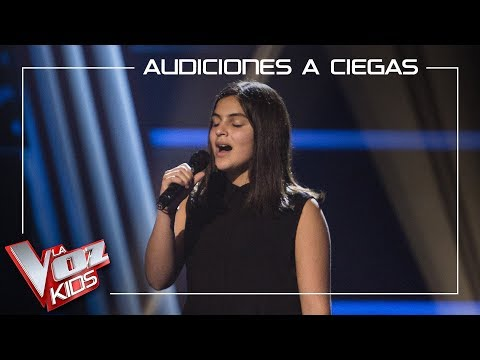 Enshar Ghateh Canta 'Someone Like You'   Audiciones A Ciegas   La Voz Kids Antena 3 2019