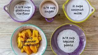 How to Make Rice Dumplings in Coconut Milk (Ginataang Bilo-Bilo)