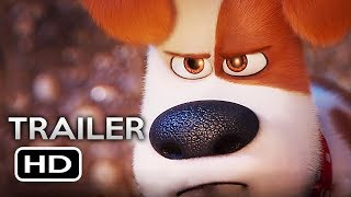 THE SECRET LIFE OF PETS 2 Official Trailer (2019) Animated Movie HD