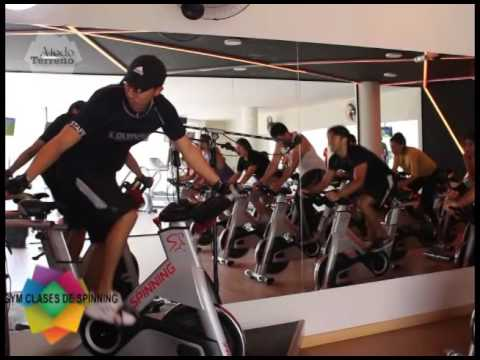 Clases de spinning con olympus gym youtube for Clases de spinning