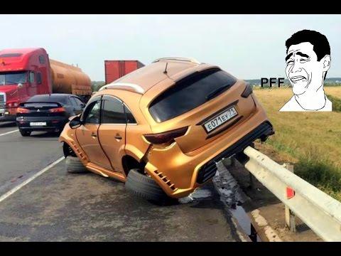 Retarded CAR CRASH COMPILATION - Crazy Traffic Accident - Best Dash Cam Crash Collision Part.61