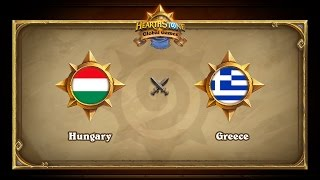 Hungary vs Greece, Hearthstone Global Games Group Stage