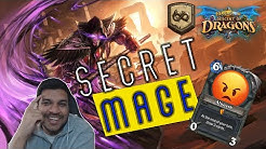 Wild Hearthstone | Secret Mage | Best Deck of the Format! | Descent of Dragons