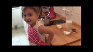 Der leckerste Schokoladenpudding - gekocht von meiner Tochter Samira :)