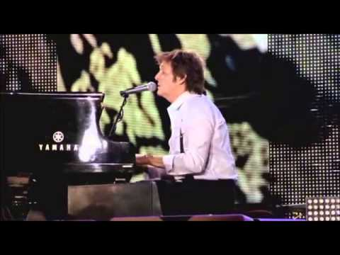 The Long and winding road - Paul  McCartney. Live.