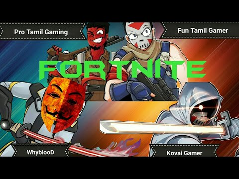 Fortnite Fun with friends Whyblood Tamil