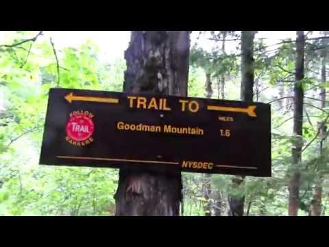 Hiking Goodman Mt. - Dedicated to Civil Rights Worker Andrew Goodman