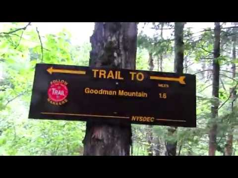 Hiking Goodman Mt. - Dedicated to Civil Rights Worker Andrew Goodman