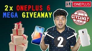 GTU Mega Giveaway, Win 2 OnePlus 6, No Random Draw, Watch & Share To Win