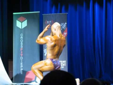 Corey Arsenault  2014 Atlantics Posing Routine