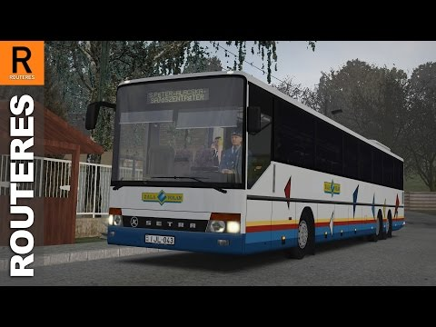 OMSI 2 - Setra S 319 UL: Description and download links below.   - Info - The Setra S 319 UL is a 15 meters long, 3-axle, high floor intercity bus, produced by Setra between 1994 and 2006.  This particular bus (IJL-043) was made in 2001, and was brought to Hungary in 2003. Since then it has been operating at Zala Volán (ÉNYKK). It is equipped with a 6 cylinder, Euro 3 Mercedes OM 457 hLA engine and a 6 speed Mercedes  GO 210 manual gearbox.  - Credits - LnD, Morphi, JXBELL, Nemeza, meXxdesign  - Links - Bus: http://www.omsiplus.hu/letoltesek/setra-s-319-ul/ Automatic transmission mod: http://www.omnibussimulator.de/forum/index.php?page=Thread&threadID=27848 Maps: Tettau, Sajószentpéter - Alacska  Game: OMSI 2 - The Bus Simulator Developer: M-R-Software Publisher: Aerosoft More info: http://omnibussimulator.de  PC: Intel Core i5 3470, 8 GB RAM, GTX 960 Game controller: Logitech DFGT My game settings: http://bit.ly/routeres_settings