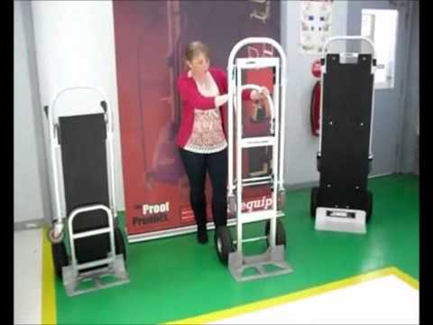 Stair Climbing Hand Truck Techlift By Techaulogy Doovi