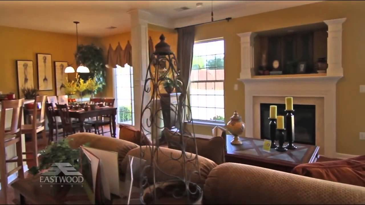 New Homes in Greenville, SC - The Cypress by Eastwood Homes - YouTube