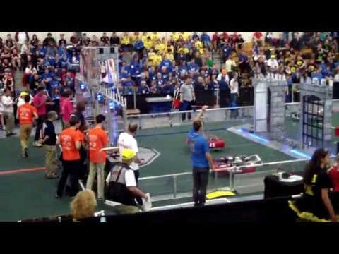 Team 4638 Jagbots Northern Maryland District Event QF1 (District High Score!)