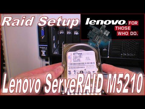 Lenovo ServeRAID M5210 in a Lenovo x3650 M5 - 215