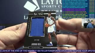 201718 Panini Noir Basketball Hobby 4 Box Case Break #13 – TIERED RANDOM TEAMS