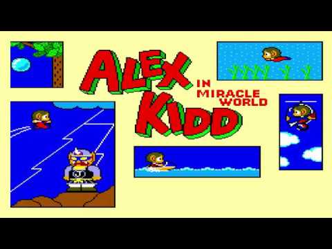 Alex Kidd In Miracle World Full Playthrough ( Nintendo Switch )