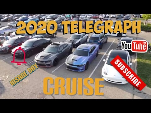 INSANE CARS AT THE TELEGRAPH CRUISE! #CarShow