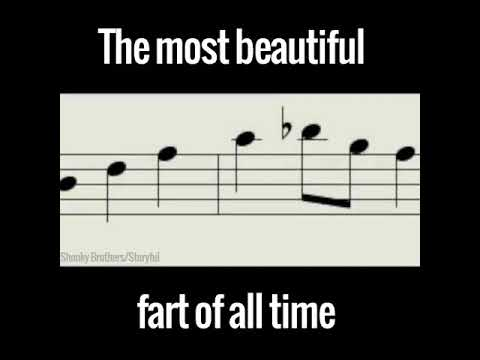 The Most Beautiful Fart of All Time!