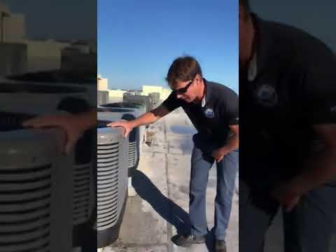 Treasure Coast Air Conditioner Expert fixes an A/C problem