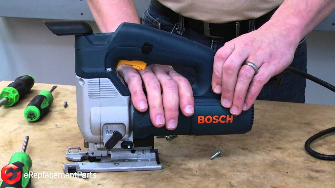 Bosch Gst How To Replace The Top Handle Assembly On A Bosch 1587avs