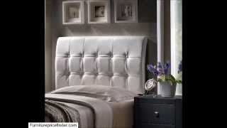 Lusso Headboard (white Faux Leather) � Queen � Headboard Only