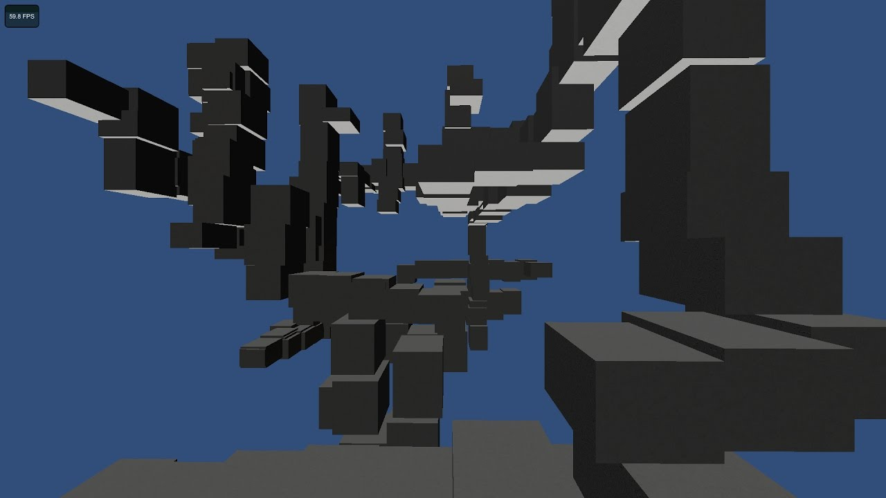 Procedural maze/volume generation in Unity with wall ...