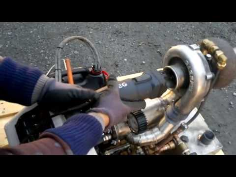 FJK-1 Home-built Turbojet engine - Free-shaft Gas turbine
