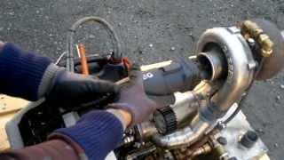 FJK-1 Home-built Turbojet engine - Free-shaft Gas turbine