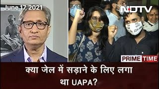 Prime Time With Ravish Kumar: 3 Student-Activists Arrested In Delhi Riots Case Released On Bail