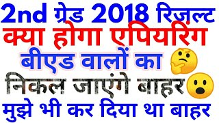 #Rpsc 2nd grade 2018 result b.ed appearing eligibility#2nd grade 2018 result latest news