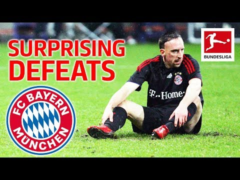 Top 5 Shock Defeats FC Bayern München