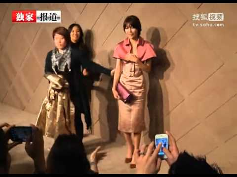 121101 Burberry Pacific Flagship Store Opening Event - Sooyoung, Yuri