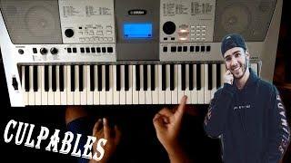 """Como Tocar """" Culpables """" En Piano Fácil / Manuel Turizo / TUTORIAL"""