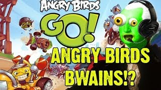 sexy birdy bwains zgw plays angry bird go 1