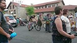 Saint Bonnet le Château : corso de la fête patronale le 07/07/2019