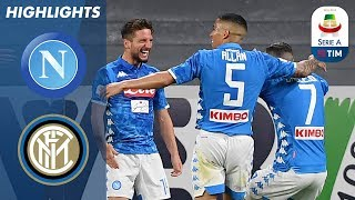 Napoli 4-1 Inter | Napoli hit four to dent Inter\'s UCL chance | Serie A