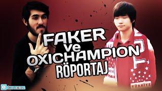 SKT T1 FAKER'la röportaj (Interviewing FAKER)- Turkish/ English