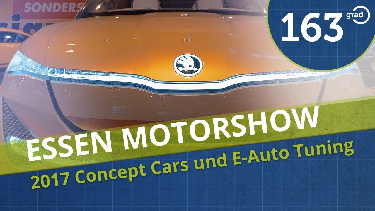 Essen Motor Show 2017 - Was gibt es in Sachen Elektromobilität und ...