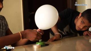 Science Experiment - Hovercraft (Friction) - Think Stations