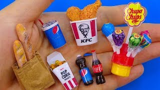 11 DIY Miniature Food, Sweets, Drink Hacks and Crafts !!!
