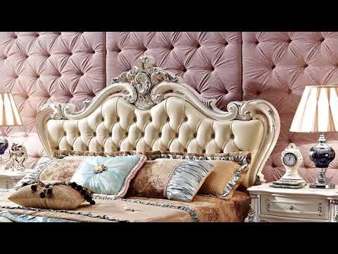 Luxury European&american Style Furniture Bedroom Set