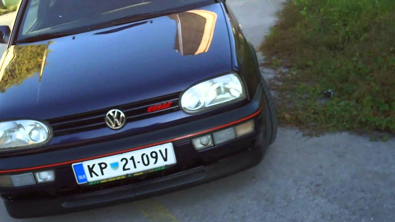 """VW Golf Mk3 GTI """"20 jahre"""" - YouTube"""