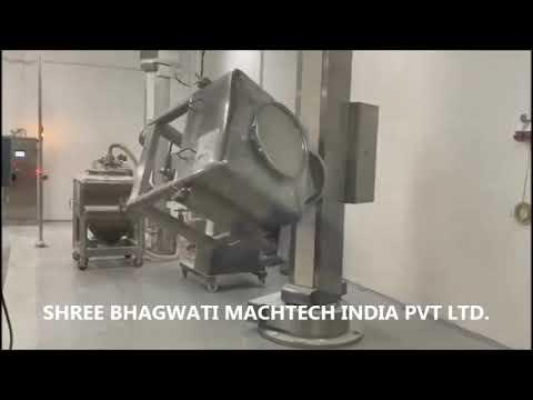 Bin Blender, Dry Powder Blenders, Bin Blender Pharmaceutical Manufacturer In India