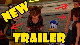 Kingdom Hearts Classic Kingdom Trailer Analysis! - HAYNER, PENCE, OLETTE!!